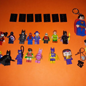 Lego 16 minifigures superheroes