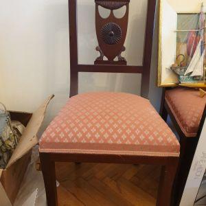 2 χειροποίητες καρέκλες σε άριστη κατάσταση