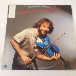 Jean-Luc Ponty A taste for passion - Δίσκος Βινυλίου 1979