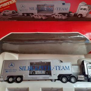 Transporter MERCEDES BENZ - SILBERPFEIL TEAM + 2 Mercedes C αυτοκ.μεσα Maistro
