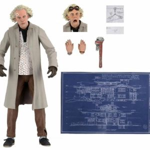 NECA Back to the Future Action Figure Ultimate Doc Brown 18 cm BRAND NEW