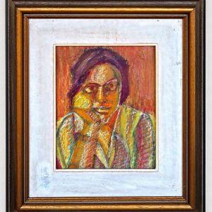 Πίνακας, Η Κοπέλα με τα γυαλιά 39Χ34