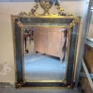 μεγάλος καθρέφτης από μπρούντζο βάρη κοματη