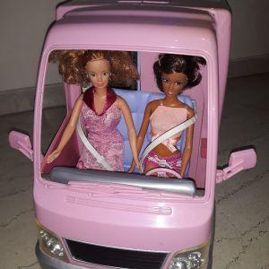 Τροχόσπιτο barbie