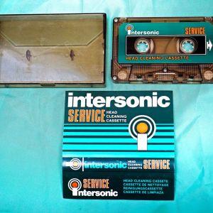 Κασέτα ήχου καθαριστική Intersonic