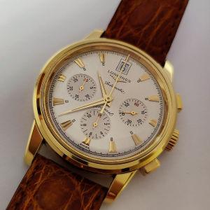 Longines Gold 18k chronograph