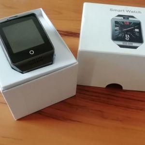 Smart watch Q18 Μαύρο (Θέλει μπαταρία)