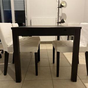 Τραπέζι σετ με 4 καρέκλες