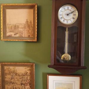 Ξύλινο ρολόι εκκρεμές