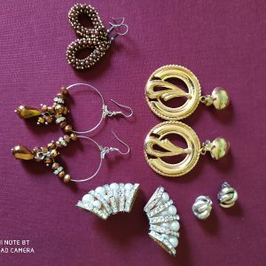 Vintage 5 ζευγάρια σκουλαρίκια.