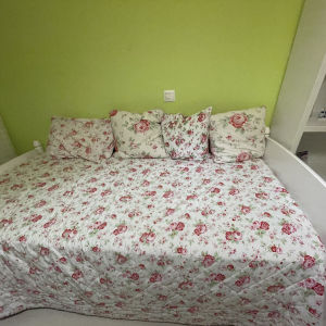 μονό κρεβάτι Gautier + στρώμα