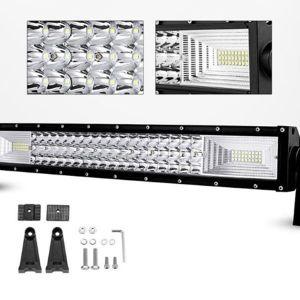 LED Μπάρα 7D 2 Σκάλες 324 Watt 10-30 Volt DC Λευκό