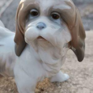 Lladro σκυλάκι Λάσα Άπσο - Lhasa Apso dog σκύλος. 4642