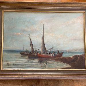 Πίνακας ζωγραφικής Απόστολου Λευκαδιου