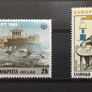 ΕΛΛΑΔΑ 1983 EUROPA CEPT MNH