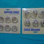 Δαχτυλίδια για χαρτοπετσέτες