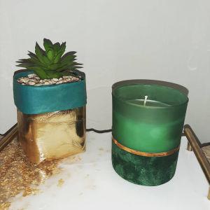 Αρωματικά κεριά σε υπέροχα ποτήρια!