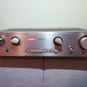 LUXMAN L-200 STEREO INTEGRATED AMPLIFIER STEREO HIFI 2X40W ME 2 ΗΧΕΙΑ 100W ΜΕΓΑΦΩΝΑ PHILIPS (vintage '80s)