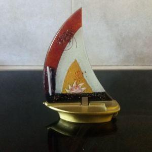 Καράβι διακοσμητικό με θήκη για ρεσό