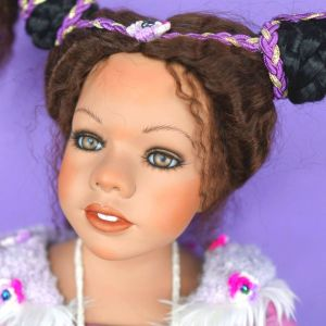 Μεγάλη πορσελάνινη κούκλα Γερμανίας