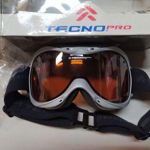 Μάσκα Σκι & Snowboard Tecno Pro - Tecnoptic UV400 ORANGE/GREY.