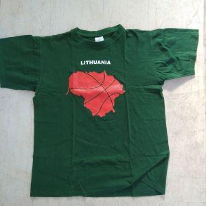 T-shirt Lithuania Basket