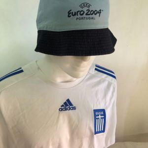 EURO 2004 εθνική Ελλάδας Adidas -ΚΑΠΕΛΟ μπλουζάκι