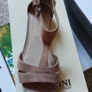 FootGlove Leather Sandals