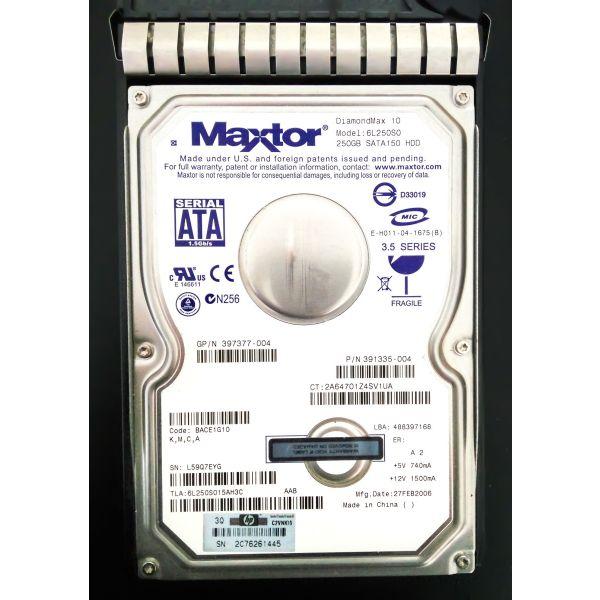 Maxtor 250GB 7200RPM 16MB SATA/150 Hard Drive