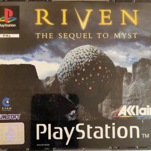 Sony Playstation - Riven (5 cd)