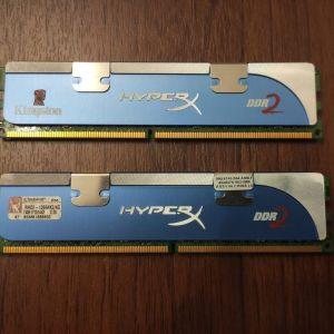Μνήμη DDR2 Kingston HyperX 2x2gb 1066 MHz