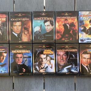 20 Ταινίες James Bond