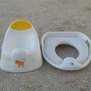 γιογιό - παιδική λεκάνη - σκαλάκι τουαλέτας