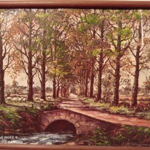 Πίνακας ζωγραφικής από τον ζωγράφο Δ. Τσαλγάνη