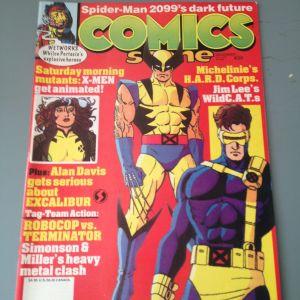 Περιοδικό Comics Scene Τεύχος 30 Δεκέμβριος 1992, Εξώφυλλο X-MEN