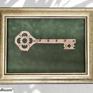 Κλειδοθηκη κορνίζα 2