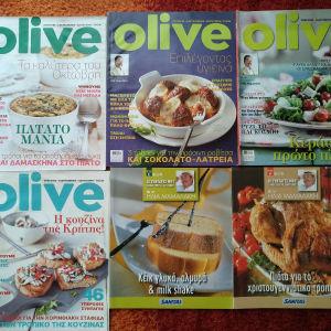 Περιοδικό OLIVE Ηλίας Μαμαλάκης