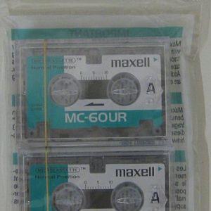 MAXELL MICROCASETA MC-60UR P3