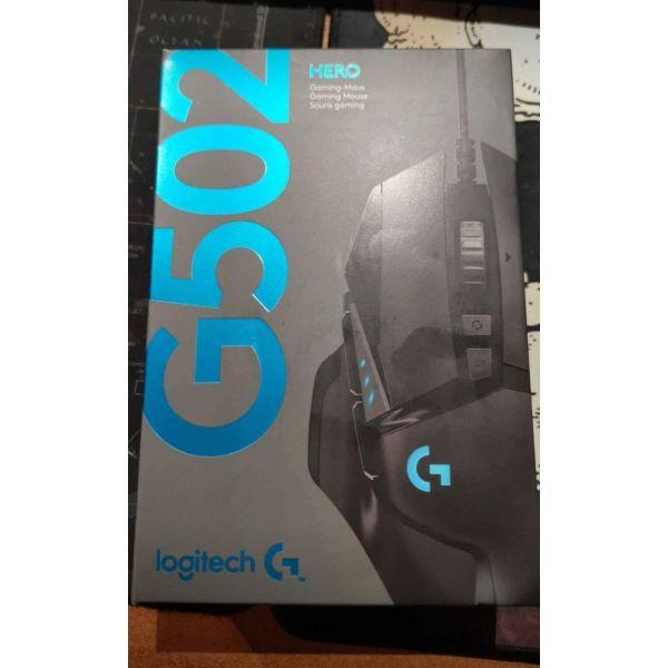 Logitech g502 gaming mouse sfragismeno