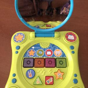 μουσικό βρεφικό παιχνίδι πιάνο με διαδραστικό καθρέφτη και τραγουδάκια imaginarium
