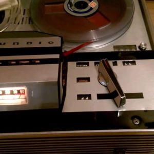 GRUNDIG TK121 tape recorder  Reel to Reel (Μπομπινοφωνο)