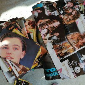 107 συλλεκτικές αφίσες δεκαετίας του 1990 από το περιοδικό σούπερ Κατερίνα