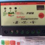 ηλιακος ρυθμιστης/ελεγκτης/φορτιστης μπαταριας,12 VDC 10 Ampere