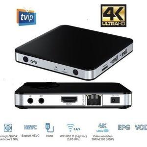 TV BOX ΧΩΡΙΣ Συνδρομές ΜΕ ΛΕΙΤΟΥΡΓΙΚΟ ΣΥΣΤΗΜΑ   LINUX/STB - ΤΟ ΑΠΟΛΥΤΟ ΜΗΧΑΝΗΜΑ ΓΙΑ IPTV ME 4K ULTRA HD  ME 1GB RAM ΜΕ ΕΛΛΗΝΙΚΟ ΜΕΝΟΥ - Dual band Wifi , COSMOTE TV