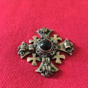 Παλιός ασημένιος σταυρός απο Ιεροσόλυμα