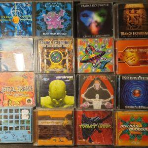 Πωλούνται CD uplifting trance nitzhonot