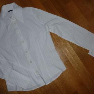 sisley πουκαμισο με χρυση ριγαsmall