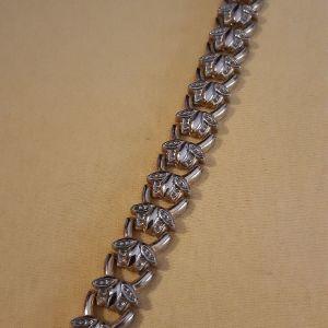 βραχιολι μεταλλικο vintage  σε πουγγι για δωρο