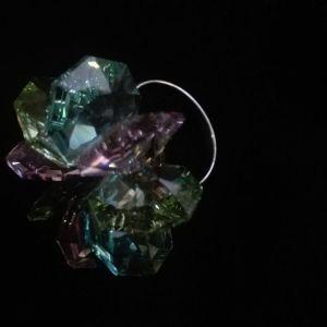 Δαχτυλιδι με κρυσταλλα Swarovski 20 ετων