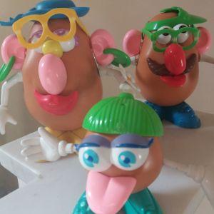 Mr potato head family